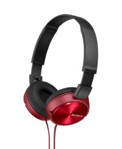 Sluchátka Sony MDRZX310R.AE červená (MDRZX310R.AE)