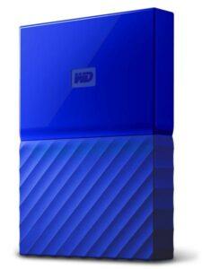 Western Digital My Passport 1TB modrý (WDBYNN0010BBL-WESN)