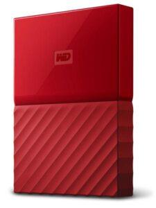 Western Digital My Passport 1TB červený (WDBYNN0010BRD-WESN)