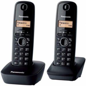 Panasonic KX-TG1612FXH šedý (KX-TG1612FXH)