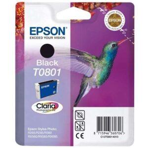 Epson T0801, 7,4ml  - originální černá (C13T08014011)