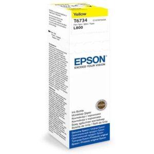 Epson T6734, 70ml - originální žlutá (C13T67344A)