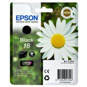 Epson T1801, 175 stran - originální černá (C13T18014010)