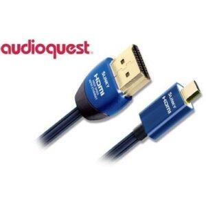 AQ Slinky HDMI / micro HDMI, 2m modrý (qslinkyhdmimc0020)