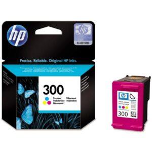 Inkoustová náplň HP č.300 (4 ml) CMY (CC643EE)