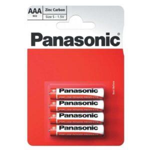 Panasonic AAA, R03, blistr 4ks (108121)