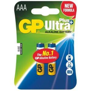 GP Ultra Plus AAA, LR03, blistr 2ks