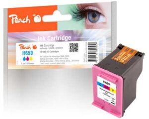 Peach HP No. 650, 215 stran, CMY, kompatibilní (318546)