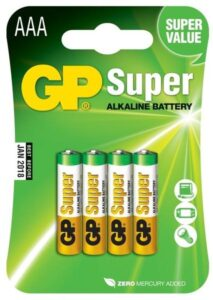 GP Super AAA, LR03, blistr 4ks