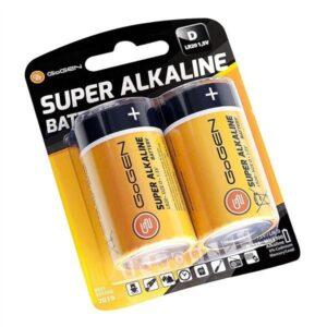 GoGEN SUPER ALKALINE D, LR20, blistr 2ks (GOGR20ALKALINE2)