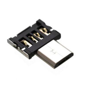 FIXED microUSB/USB, OTG černá (FIXA-MTOAM-BK)