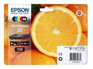 Epson Claria Premium T33, CMYK (C13T33374011)