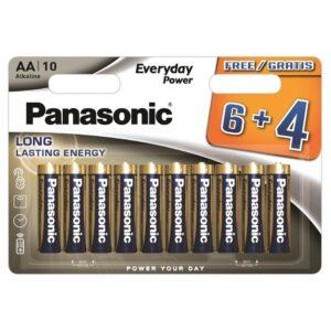Panasonic Everyday Power AA, LR06, blistr 6+4ks (408594)