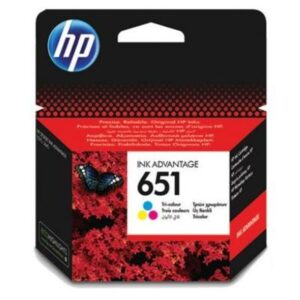 HP 651, 300 stran, CMY (C2P11AE)