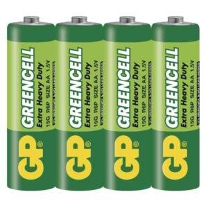 GP Greencell AA, R06, fólie 4ks (GP 15G)