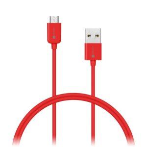Connect IT Wirez USB/micro USB, 1m červený (CI-570)