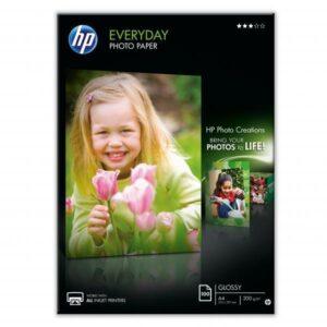 HP Everyday Glossy, lesklý, bílý, A4, 200 g/m2, 100 ks bílý (Q2510A)