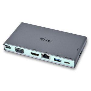 i-tec USB-C, 4K HDMI, VGA (C31TRAVELDOCKPD)
