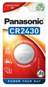 Panasonic CR2430, blistr 1ks