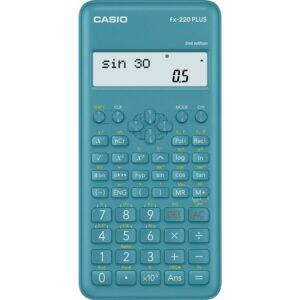 Casio FX 220 PLUS 2E modrá