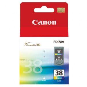 Canon CL-38C, 207 stran - originální červená/modrá/žlutá (2146B001)