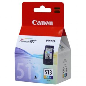 Canon CL-513C, 350 stran - originální červená/modrá/žlutá (2971B001)