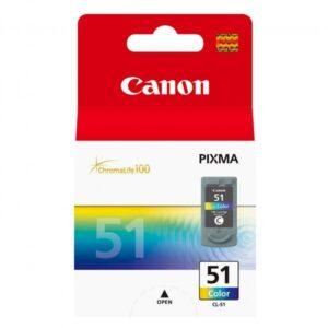 Canon CL-51C, 330 stran, CMY - originální (0618B001)