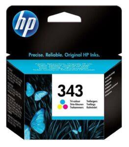 Inkoustová náplň HP No. 343
