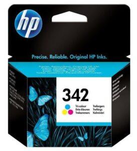 HP No. 342, 5ml, 175 stran - originální červená/modrá/žlutá (C9361EE)
