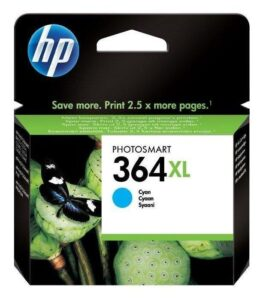 HP No. 364XL, 750 stran - originální modrá (CB323EE)