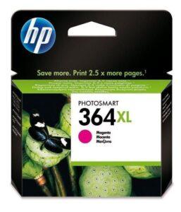 HP No. 364XL, 750 stran - originální červená (CB324EE)