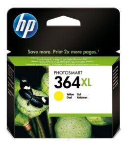 HP No. 364XL, 750 stran - originální žlutá (CB325EE)
