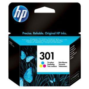 HP No. 301, 165 stran - originální červená/modrá/žlutá (CH562EE)
