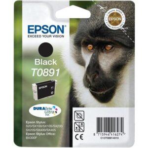 Epson T0891, 180 stran - originální černá (C13T08914011)