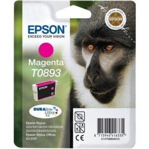 Epson T0893, 3,5ml  - originální červená (C13T08934021)