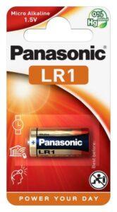 Panasonic LR1, blistr 1ks