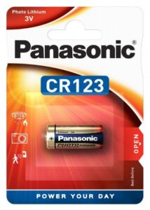 Panasonic CR123A, blistr 1ks