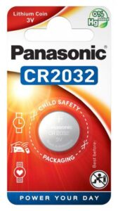 Panasonic CR2032, blistr 1ks