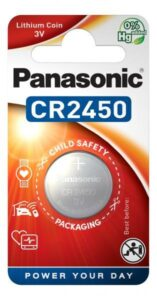 Panasonic CR2450, blistr 1ks