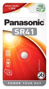 Panasonic SR41, blistr 1ks