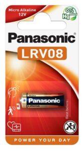 Panasonic 23A, LRV08, blistr 1ks