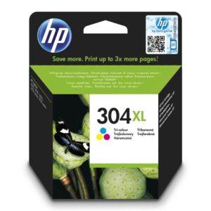 HP 304XL, 300 stran, CMY (N9K07AE)