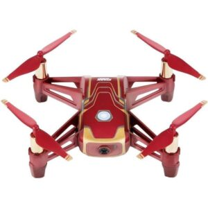 Ryze Tech Tello – Iron Man Edition červený/zlatý
