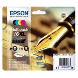 Epson 16XL, 450/500 stran - CMYK (C13T16364012)