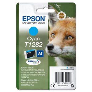 Epson T1282, 3,5ml  - originální modrá (C13T12824011)