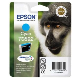 Epson T0892, 170 stran - originální modrá (C13T08924011)