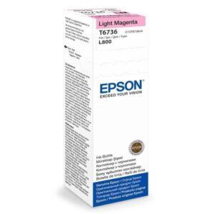 Epson T6736, 70ml - originální - světle červená (C13T67364A10)