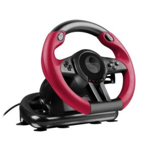 Speed Link TRAILBLAZER Racing Wheel pro PC, PS4/Xbox One/PS3 černý (SL-450500-BK)