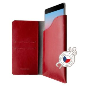 FIXED Pocket Book na Apple iPhone 6 Plus/6s Plus/7 Plus/8 Plus/Xs Max červené (FIXPOB-335-RD)