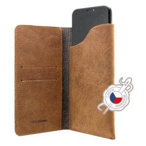FIXED Pocket Book na Apple iPhone 6 Plus/6s Plus/7 Plus/8 Plus/Xs Max hnědé (FIXPOB-335-BRW)